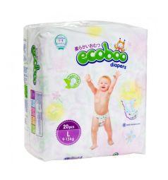 Подгузники Ecoboo Детские (9-13 кг) 20 шт.