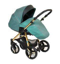 Прогулочная коляска Mr Sandman Traveler Gold, цвет: emerald