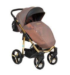 Прогулочная коляска Mr Sandman Traveler Gold, цвет: bronza