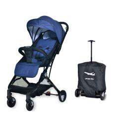 Прогулочная коляска Everflo Baby travel E-330, цвет: jeans