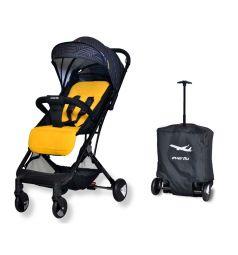 Прогулочная коляска Everflo Baby travel E-330, цвет: yellow