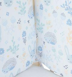 Бортик в кроватку Baby Nice Лесная поляна, цвет: голубой