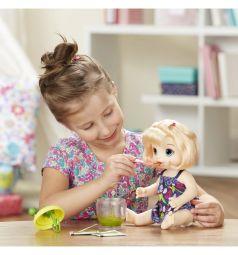 Кукла Baby Alive Малышка с игрушечным блендером 33 см