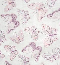 Подушка Зайка Моя Бабочки 40 х 60 см, цвет: голубой