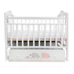 Кровать By Twinz Мэри, цвет: серый/розовый