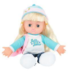 Кукла Игруша в розовой шапке 30 см