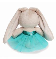 Мягкая игрушка Зайка Ми Малыши в бирюзовой юбочке с бабочкой 15 см