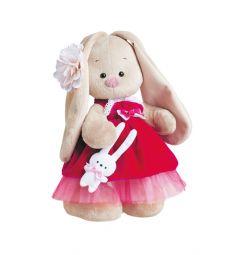 Мягкая игрушка Зайка Ми Ягода калина 32 см
