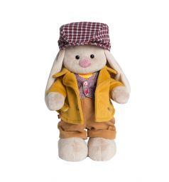 Мягкая игрушка Зайка Ми Британские каникулы Лондон, мальчик 32 см