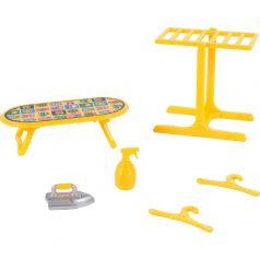Игровой набор Mimi Stories Мебель Прачечная (8 предметов)