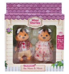 Набор фигурок Mimi Stories Семья собак (2 фигурки) 8 см