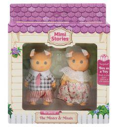 Набор фигурок Mimi Stories Семья медведей (2 фигурки) 8 см