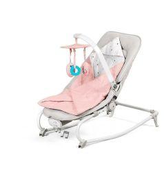 Шезлонг Kinderkraft Felio, цвет: pink