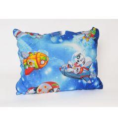 Подушка Cleo Игрушки 40 х 60 см, цвет: синий