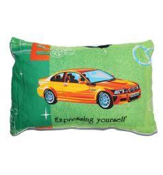 Подушка Cleo Спорт 40 х 60 см, цвет: зеленый