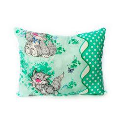 Подушка Cleo Животные 50 х 70 см, цвет: зеленый