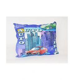 Подушка Cleo Спорт 50 х 70 см, цвет: мультиколор