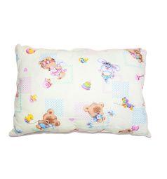 Подушка Cleo Игрушки 50 х 70 см, цвет: белый