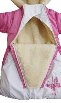 Alex Junis Комбинезон конверт Бемби, цвет: розовый
