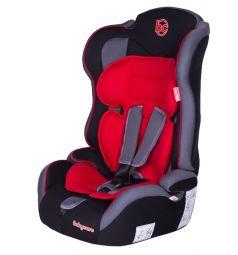 Автокресло BabyCare Upiter Plus, цвет: черный/красный