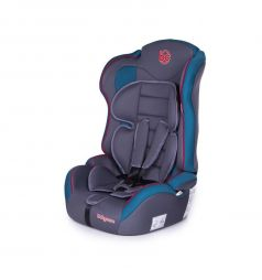 Автокресло BabyCare Upiter Plus, цвет: серый/синий