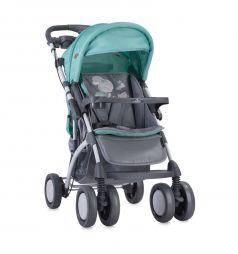 Прогулочная коляска Lorelli Toledo, цвет: серый/зеленый