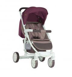 Прогулочная коляска Lorelli S-300, цвет: бежевый/красный
