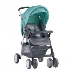Прогулочная коляска Lorelli Terra, цвет: серый/зеленый