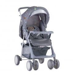 Прогулочная коляска Lorelli Terra, цвет: серый