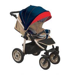 Прогулочная коляска Camarelo Eos, цвет: темно-синий/красный