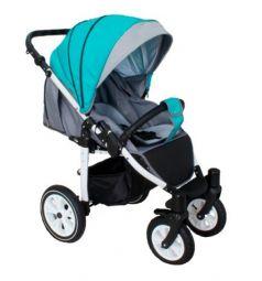 Прогулочная коляска Camarelo Eos, цвет: бирюзовый/светло-серый