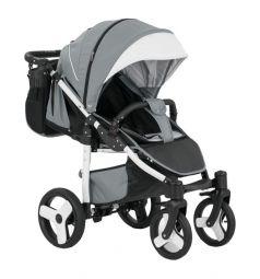 Прогулочная коляска Camarelo Elf, цвет: светло-серый/черный