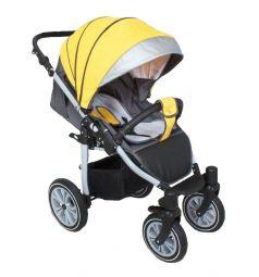 Прогулочная коляска Camarelo Eos, цвет: желтый/серый