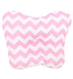 Зайка Моя Подушка Зиг-заг, цвет: розовый