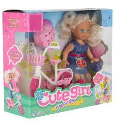 Игровой набор Игруша Кукла с аксессуарами 9 см
