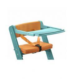 Комплект Конёк-Горбунёк Столик на стул+ограничитель, цвет:лазурный/солнышко