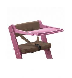 Комплект Конёк-Горбунёк Столик на стул+ограничитель, цвет:ягодный/шоколад