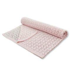 Leo Плед Фриволите 90 х 90 см, цвет: розовый