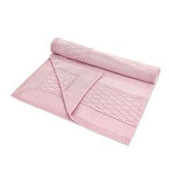 Leo Плед Очарование 90 х 90 см, цвет: розовый