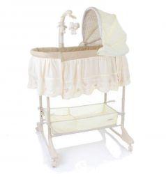 Кроватка-люлька Jetem Sweet Dream 3 в 1, цвет: cream