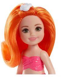 Кукла Barbie Челси русалочка с рыжими волосами 15 см
