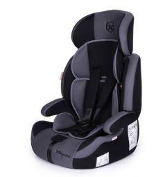 Автокресло BabyCare Legion, цвет: серый/черный