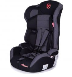 Автокресло BabyCare Upiter Plus, цвет: черный/серый