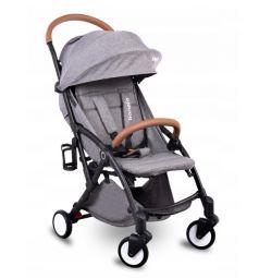 Прогулочная коляска Lionelo Lо-Julie, цвет: black/grey