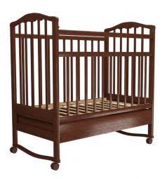 Кровать Агат Золушка-2, цвет: вишня