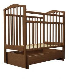 Кровать Агат Золушка-4, цвет: орех