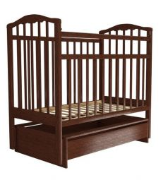 Кровать Агат Золушка-4, цвет: вишня