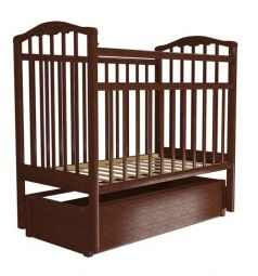 Кровать Агат Золушка-6, цвет: вишня