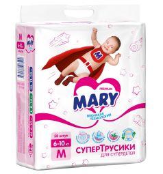 Трусики-подгузники Mary M (6-11 кг) 58 шт.