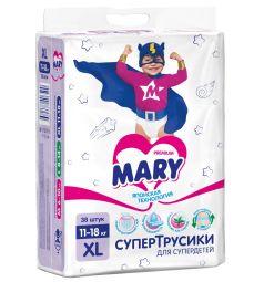 Трусики-подгузники Mary L (12-22 кг) 38 шт.